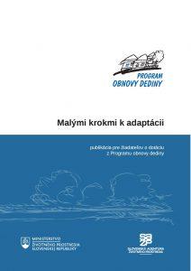 Brožúra Malymi krokmi k adaptacii - Final